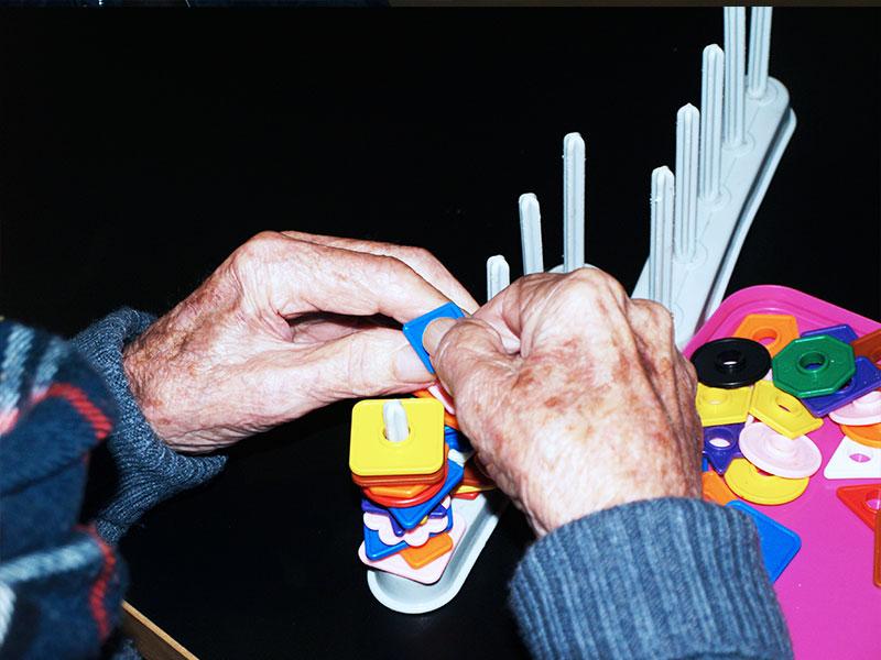 Ayudía: Centro de día Fuengirola sala de juegos